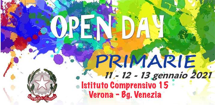 Open Day IC 15 primarie